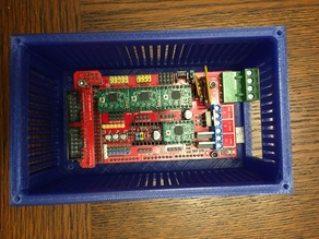 Arduino Mega 2560 Case + Mount
