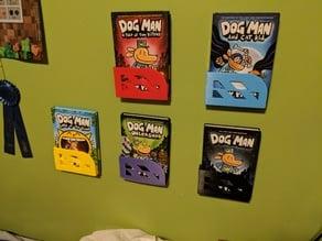 Dog Man Bookshelf
