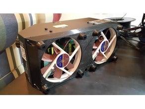 CR-10 Dual 120mm Fan Amazing Bigery Case Remix