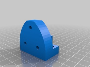 i3 8mm Leadscrew upgrade Z Axis motor mounts for 42mm high motors