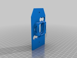 RAISE3D extruder cover with Cooling Fan