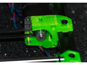 Prusa i3 Bear Upgrade y motor mount with endstop