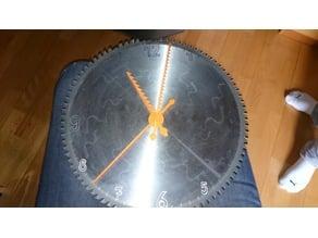 Clock JigSaw Design