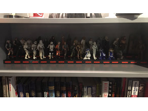 Star Wars Figure Display Stand IKEA Billy Book Case
