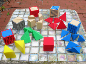 Dissected Cubes