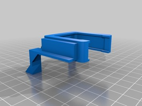 30mm Screwless Fan Mount for Monoprice Mini Select Controller Board