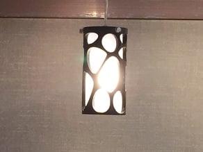 Voronoi Cylinder Lamp