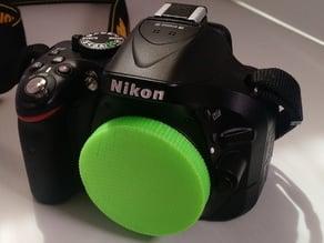 Nikon F Mount Body Cover/ Pinhole Camera