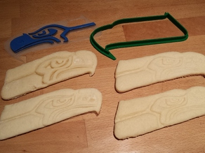 Seahawks Logo Cookie Cutter