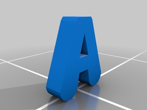 The Letter 'A'