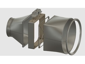 120mm & 140mm Fan Fume Extractor - Large Scoop