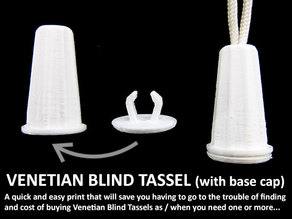 Venetian Blind Tassel (with End Cap)
