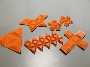 Foldable Polyhedra
