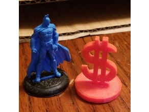 Money symbol objective marker