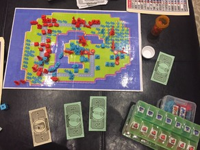Skirmish Wars: Advance Tactics Board Game (24 Pieces)