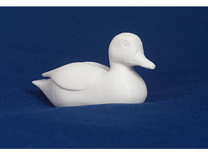 Jean Gordon's carvings Duck