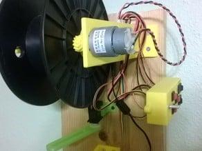 FIlawinder printed motor support