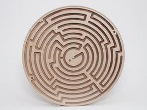 Doublesided Circular Maze