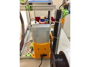 Power Supply Case for the D-Bot Core XY printer