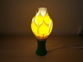 Blossoming Lamp for E14 bulb - version A