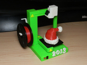 Christmas Ornament - 2013 - 3D Printer