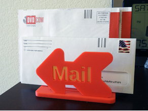 Mail Holder - directional