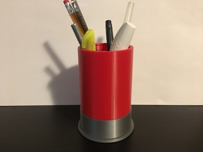 Shotgun Shell Pen and Pencil Holder