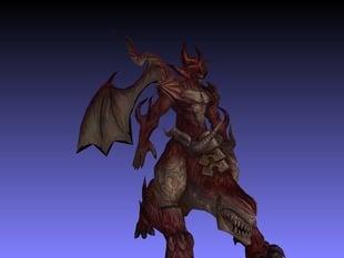 Demon Frintessa Fantasy figure
