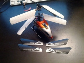 Working 3D printed Helicopter Blades