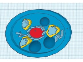 Fungi Cell Model