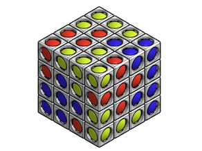 Ball in Cube and Bedlam Cube