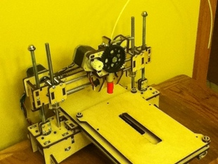 Printrbot LC Y-axis Extended Table: print in a 6x8 area!