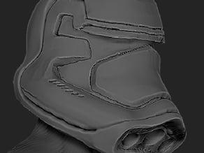 Star Wars VII Force Awekens Storm Trooper Helmet