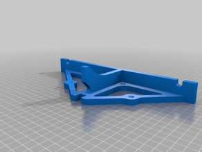 Anet A8 Rear Frame Brace with Mounting Holes