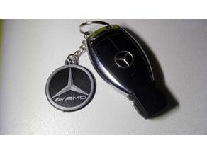 Mercedes Benz AMG keychain