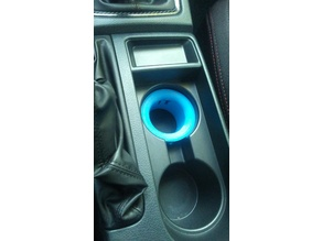 Red Bull cup holder adapter