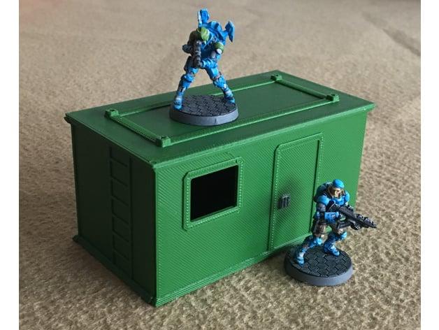 Sci-Fi shack