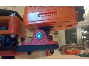 Runcam 2 to GoPro mount adapter - slanted forward
