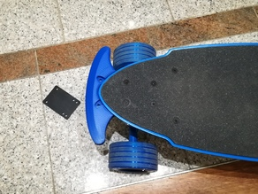 Longboard Bumper front (Yuneec EGO-2)