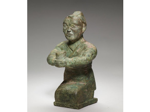 4th C BCE Kneeling Figure