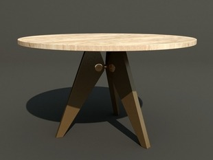 Prouve Table DXF