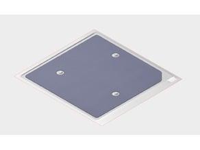 Ender-2 Heat Bed Insulation Pattern