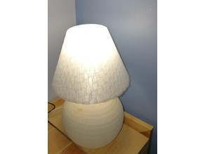 Small cubic lampshade