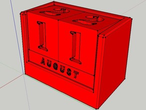 Analog Calendar