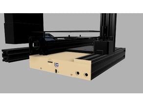 Ender 3 (Pro) SKR V 1.3 / MKS gen L rear case (upside down)