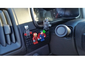 Lego replacement cover for Chevy Colorado Card holder