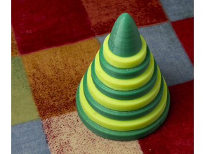 Towers of Hanoi Portable Puzzle