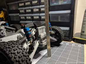 3D Printed RC Car V3 -- Tarmo3 -- Front Parts [1/3]