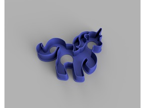 Unicorn Cookie Cutter (125 x 110mm)