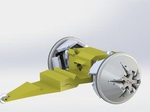 Transforming Wheel Robot
